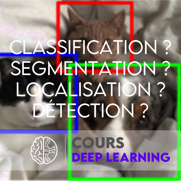 classification localisation segmentation detection